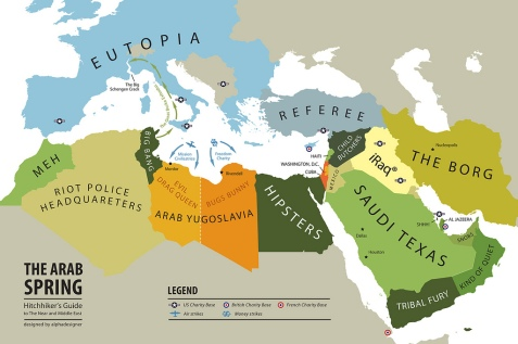 The Arab Spring - Hitchhiker's Guide to The Near and Middle East