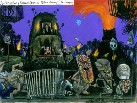Martin Rowson cartoon 13/04/2013