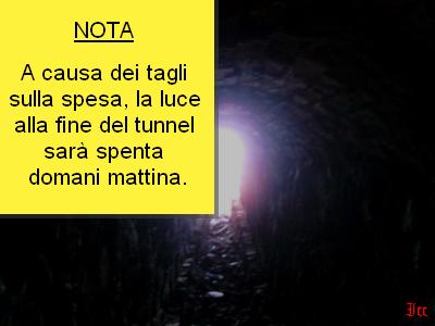 Luce+alla+fine+del+tunnel
