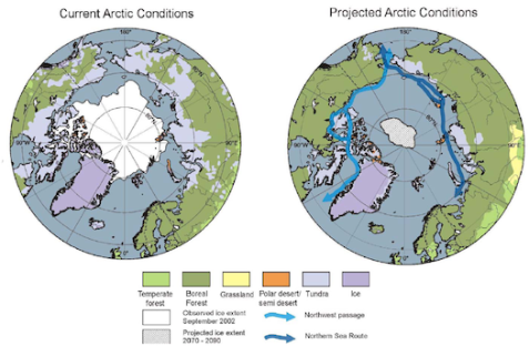 Arctic-climate IPCC