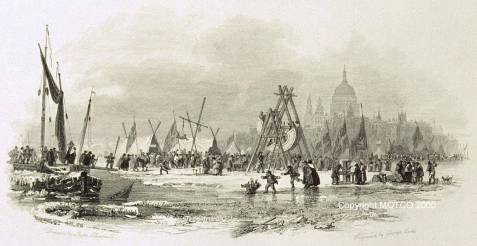 London Bridge frost 1814