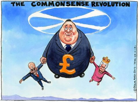 28.11.13: Steve Bell on Alex Salmond and Scottish independence