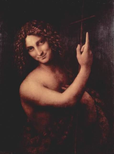 """Leonardo da Vinci, """"San Giovanni Battista"""""""