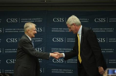 Zbigniew Brzezinski e Carl Bildt