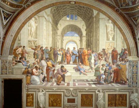 Raffaello Sanzio - Scuola di Atene