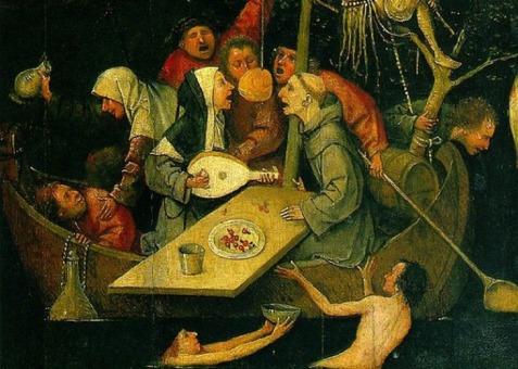 La Nave dei Folli di Hieronymus Bosch