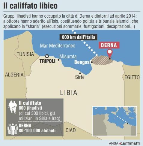 800 jihadisti minacciano 60 milioni di italiani