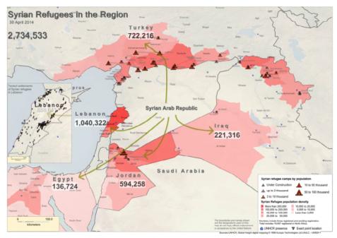 186338-SyrianRefugeesintheRegionApr302014