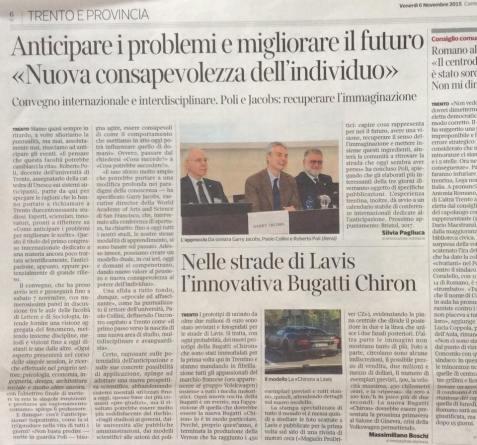 Anticipazione2015 sul Corriere della Sera